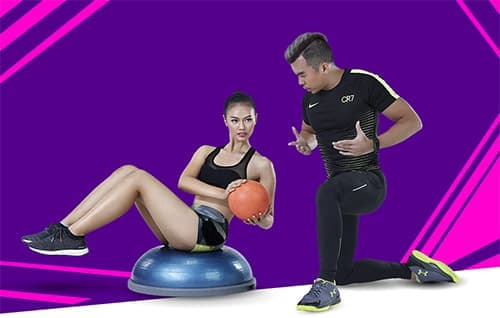 Celebrity Fitness Thailand VIP Training